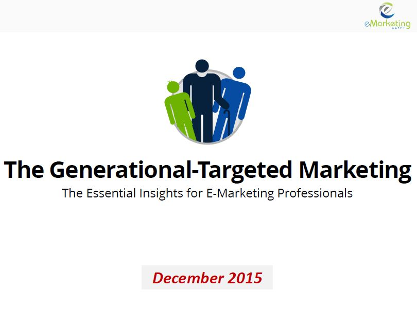 The Generational-Targeted Marketing in Egypt in 2015