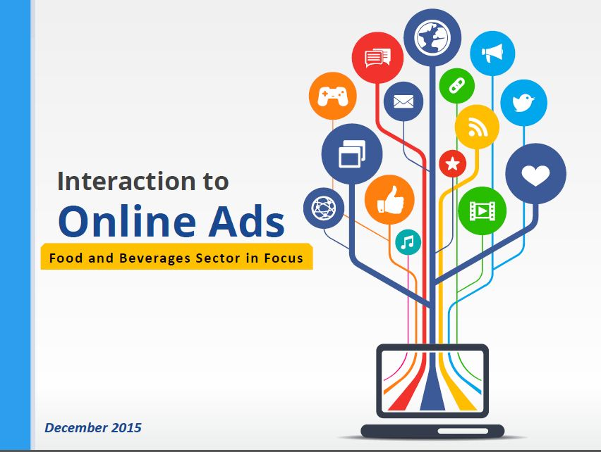 report-5Interaction to Online Ads Food and Beverages Sector in Focus