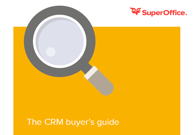 The CRM Buyer's Guide   SuperOffice