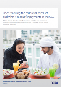 Understanding the Millennial Mind-Set and What it Means for Payments in the GCC, Q2 2016 Visa