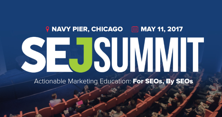 SEJ Summit | 11 May, Chicago, IL