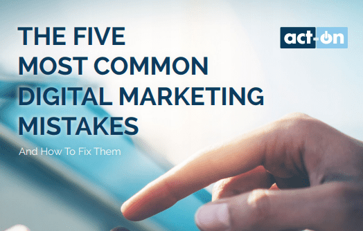Explore the 5 common mistakes people make in digital marketing. Explore tips on how to fix those digital marketing mistakes. Where the most common digital marketing landmines are