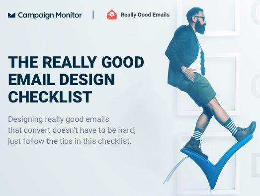The Only Checklist You Need for Really Good Email Design [Infographic]