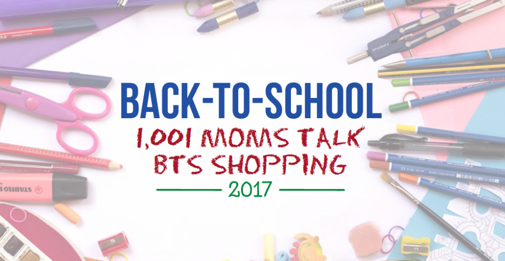 Back-to-School Shopping of USA Moms in 2017 / Field Agent