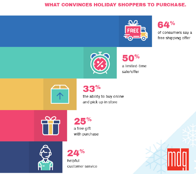 Factors Convinces Holiday Shoppers to Purchasere