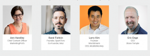 The 2018 Next10x Speakers