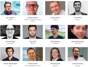 ML conference speakers