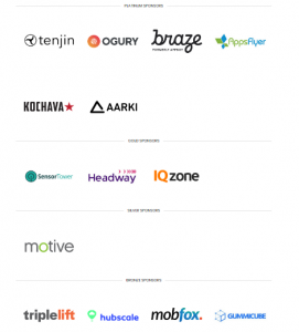 Mobile Growth New York 2018 Sponsors