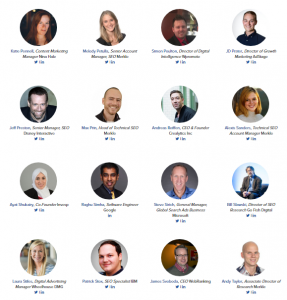 The eMetrics Summit 2018 speakers