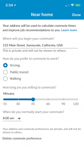 """LinkedIn introduces """"Your Commute"""", A New Feature For Job Seekers 2 