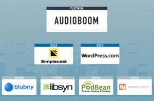 Podcast Movement 2018 Conference sponsors