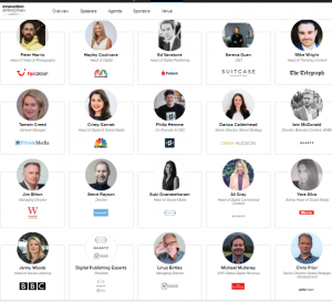 Digital Publishing Innovation Summit London 2018 speakers