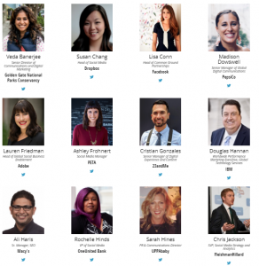 PR News Social Media Summit 2018 speakers