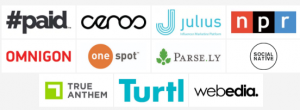 Content Marketing Summit Vail 2018 sponsors