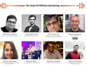 India Affiliate Summit 2018 Speakers
