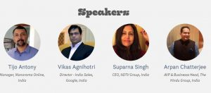 Digital Media India 2018 Conference Speakers