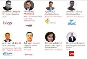 iMedia Brand Summit Jaipur 2018 Speakers