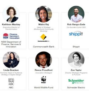 Digital Strategy Innovation Summit Sydney 2018 Speakers