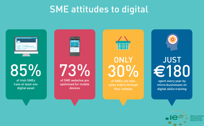The Irish SMEs Attitudes to Digital, 2018.