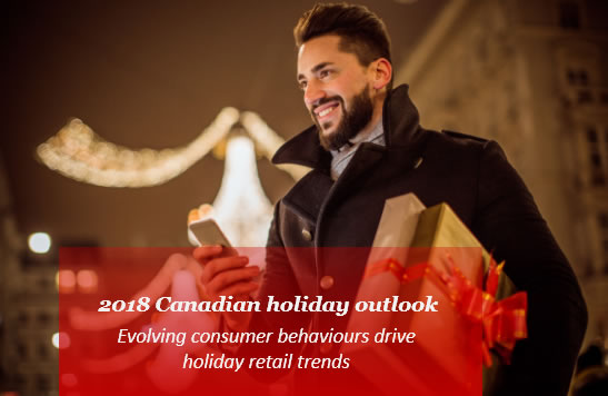 2018 Canadian Holiday Outlook: Holiday Spending Habits & Behaviours