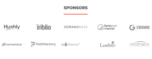 B2B Marketing Exchange 2019 Conference Sponsors