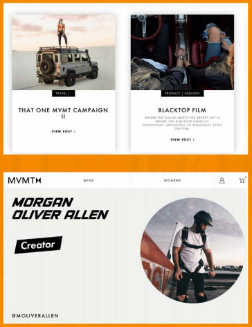 Content Marketing Example for Fashion: Killer Content Marketing Example: The Influencer Marketing Blog of MVMT Fashion Brand