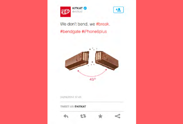 Prove Relevance - Digital Marketing Tactic - Kit Kat