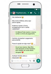 PlayKids' WhatsApp Business Campaign