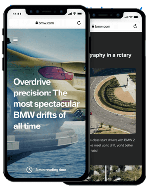 What Is Accelerated Mobile Pages (AMP) and How to Implement AMP? - The Use of AMP by BMW - Case Study