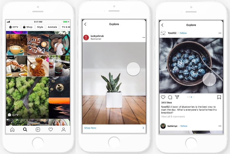 Instagram to Run Ads in The Explore Tab