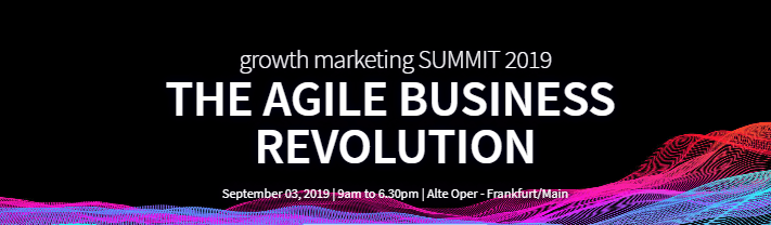 Growth Marketing Summit 2019 | Frankfurt, Germany, A lovingly hand-picked line-up of the world's leading experts show on September 3rd in just one day the secrets of effective optimization.