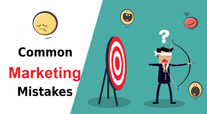 Common Digital Marketing Mistakes Made By Businesses