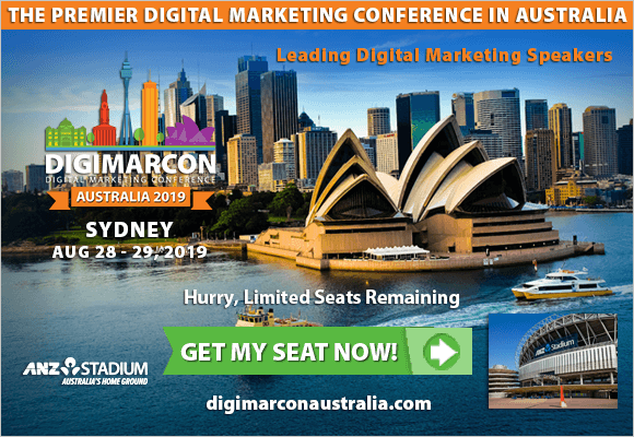 DigiMarCon Australia 2019 Conference is the biggest digital marketing event you can't afford to miss! Whatever your goal is, this event will help attendees improve your marketing efforts