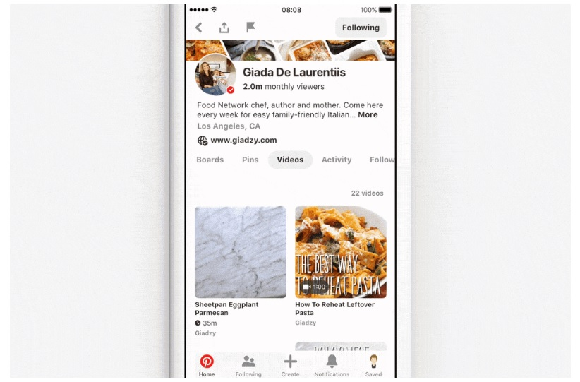 Pinterest Introduces New Video Tools for Creators and Businesses