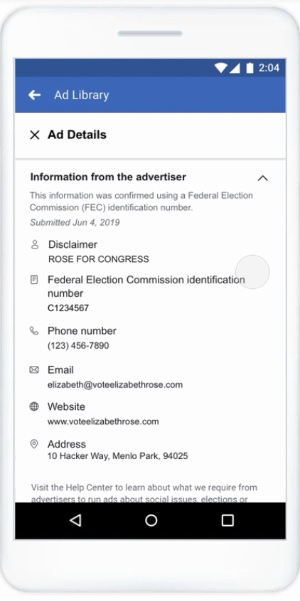 Facebook Tightens Rules for Political Ads Ahead of The US 2020 Elections