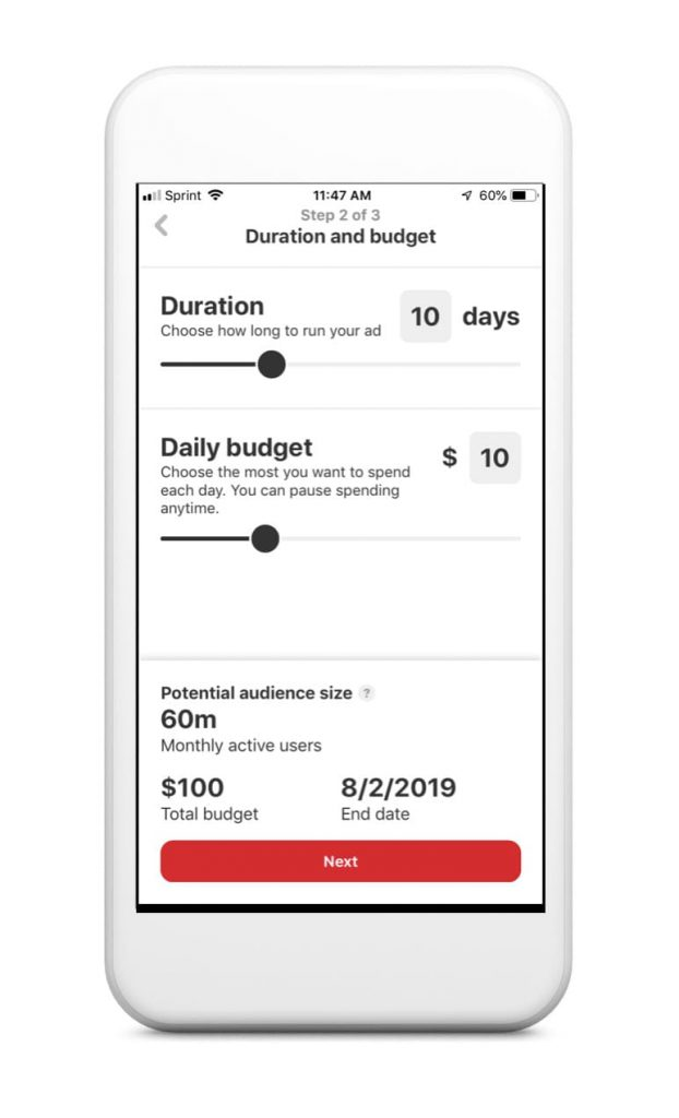 Pinterest Ads on the Go is a new mobile ad tool that allows brands to create and manage their ad campaigns more easily using mobile phones.