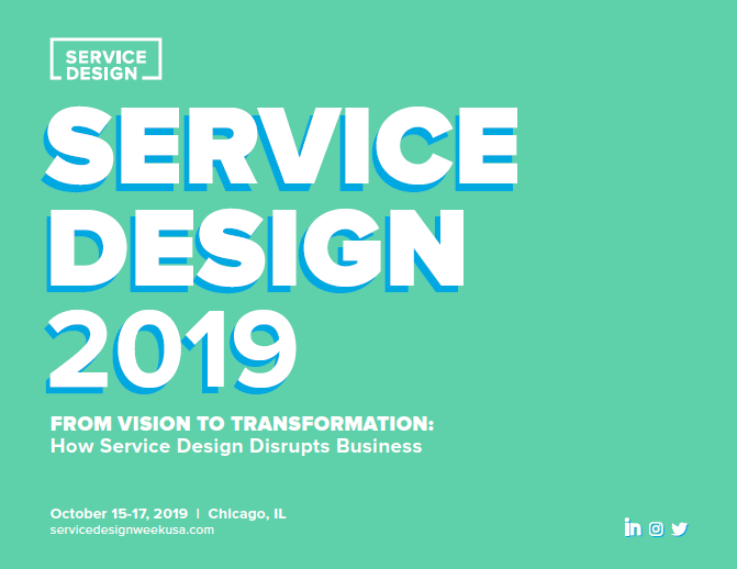Service Design 2019 | Chicago, USA 1 | Digital Marketing Community